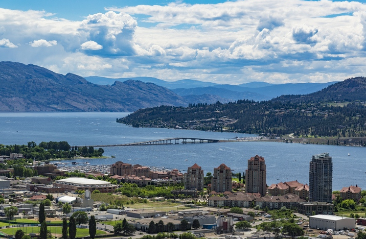 Kelowna trending into a top-tier investment opportunity: Named by Western Investor as the top western city for real estate investors