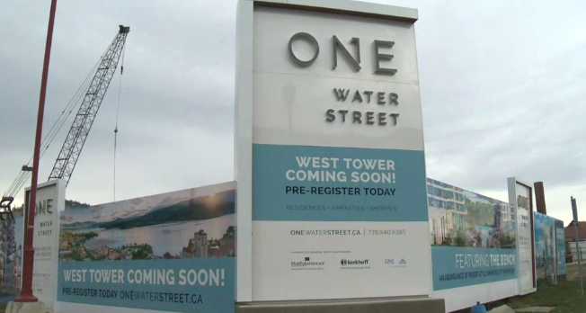 Second condo tower at Kelowna's 'One Water Street' being fast-tracked amid high demand (Global News)