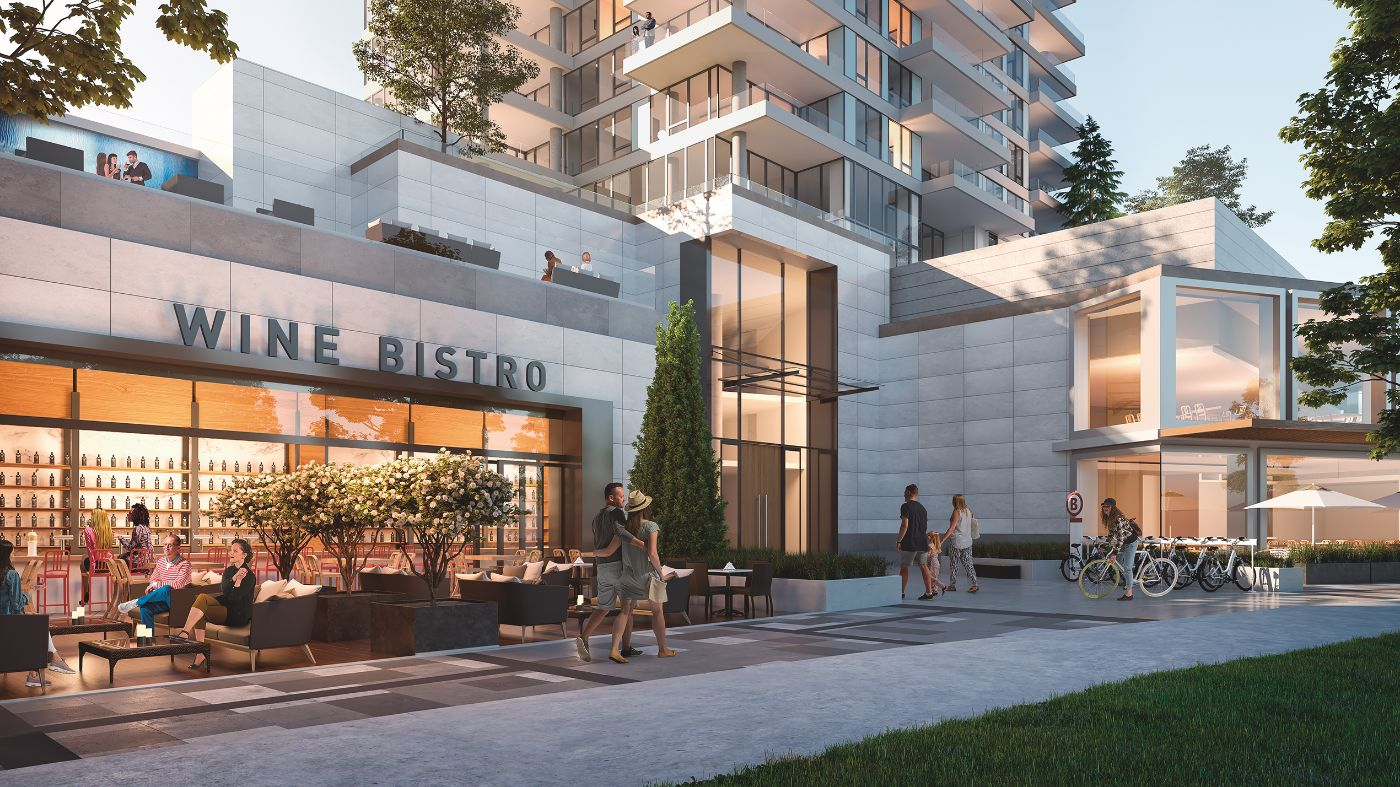 Only steps from your front door, you'll appreciate a selection of shoppes, dining, and services along the ONE Water Street streetscape. title=THE SHOPPES AT ONE WATER STREET